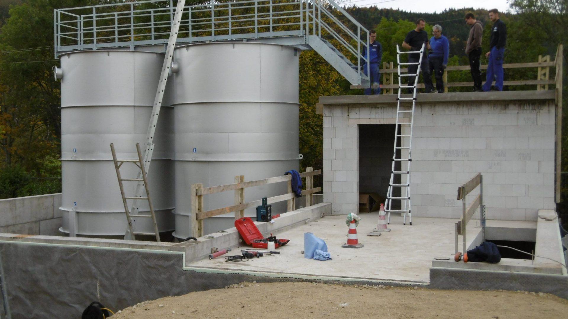 Kläranlage Fridingen <br> <h4>Neubau Filtration</h4>