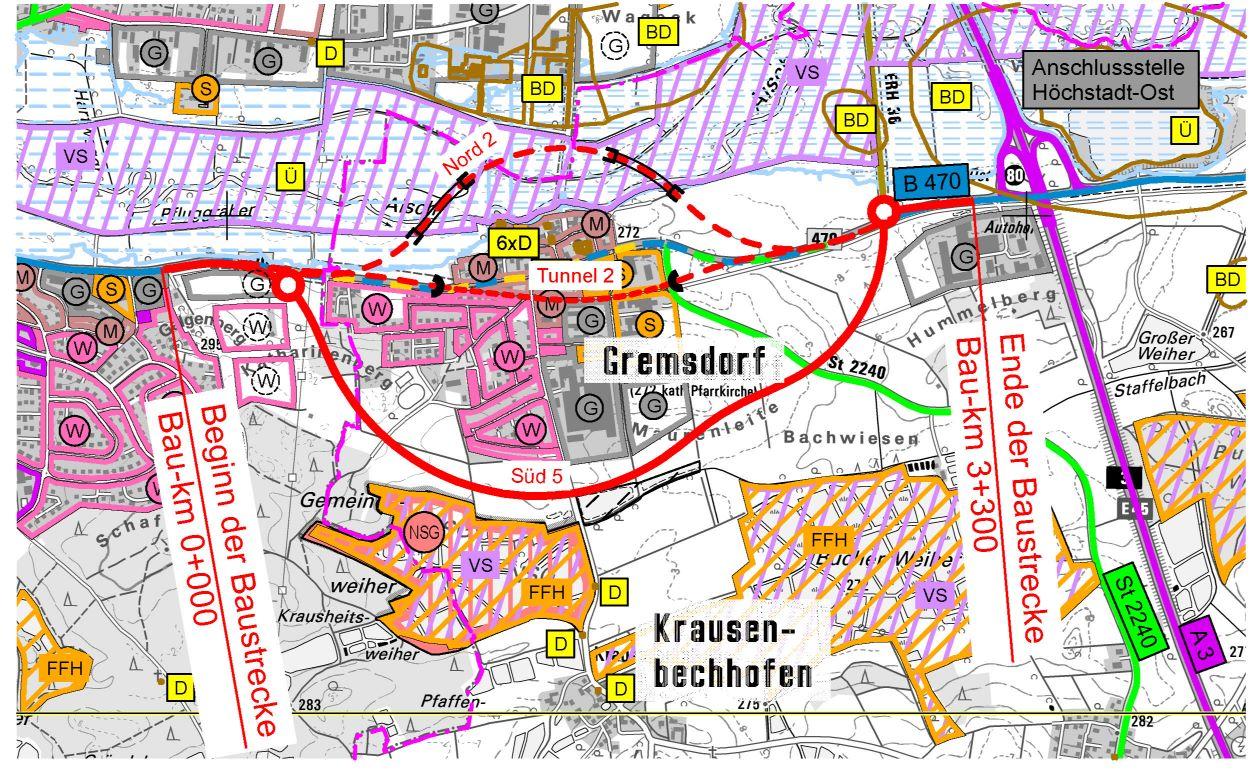 B 470 OU Gremsdorf